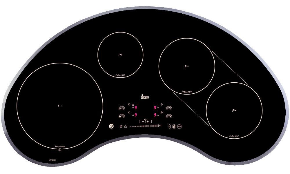 Варочная поверхность индукционная VR TC 95 4I, код: 10210069